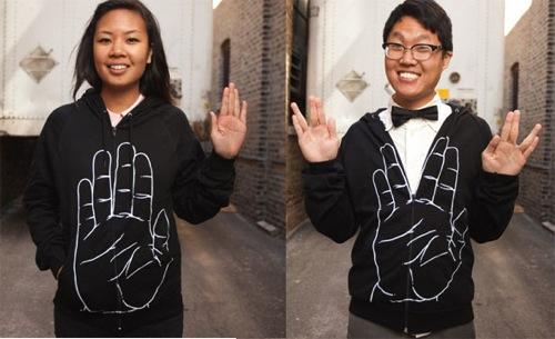 Vulcan-salute-hoodie